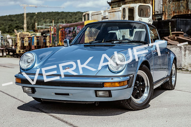 Porsche 911 Carrera 3,2L Targa G-Modell Irisblau