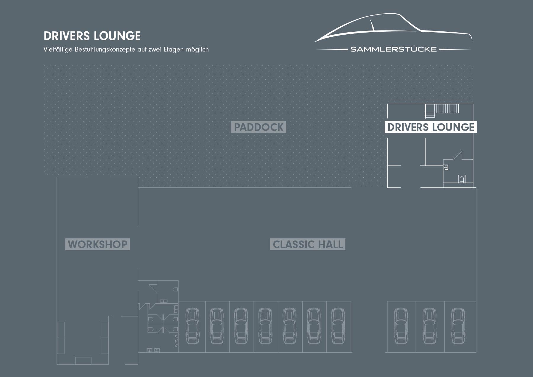 Drivers Lounge – Sammlerstücke Moers