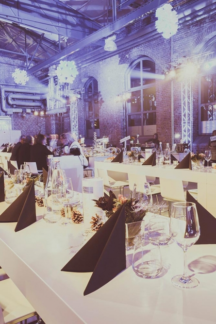Dinner in der Classic Hall – Sammlerstücke Eventlocation Moers