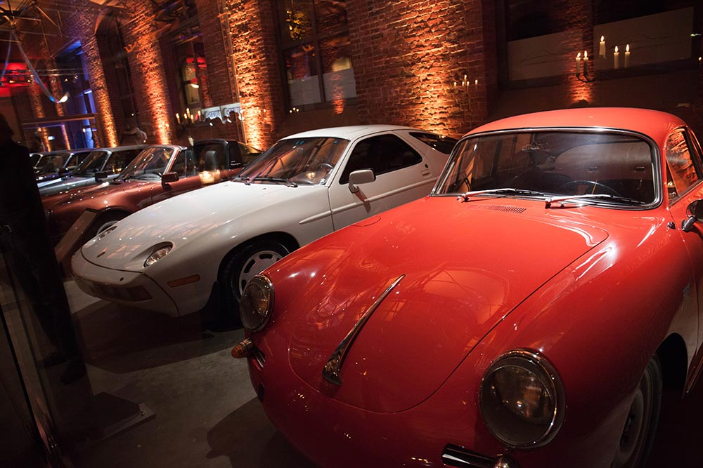Porsche in der Classic Hall – Sammlerstücke Eventlocation Moers