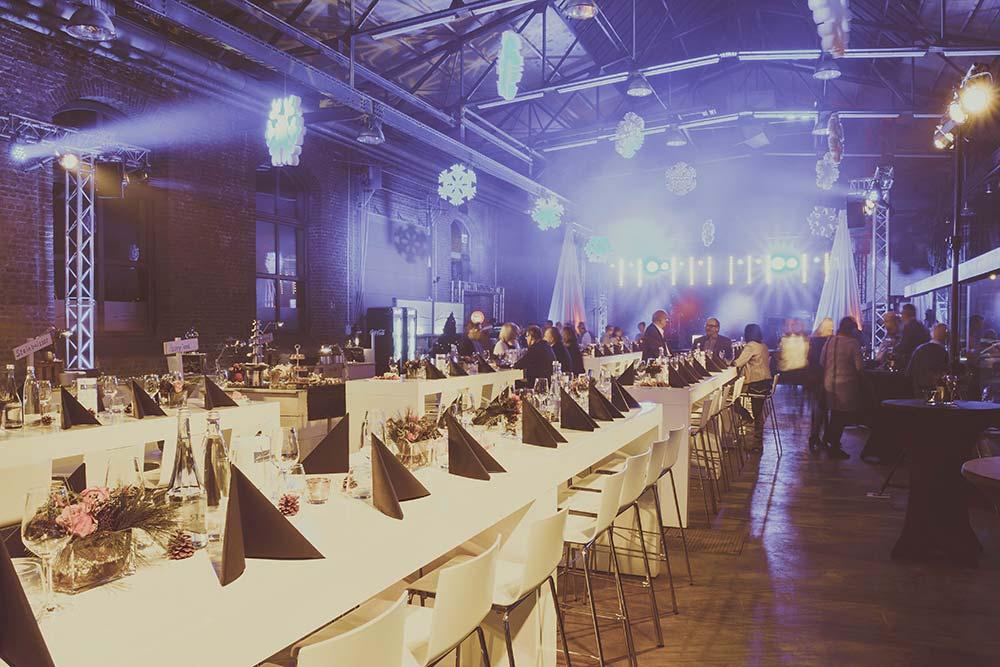 Dinner in der Classic Hall – Sammlerstücke Moers – Eventlocation im Raum Düsseldorf