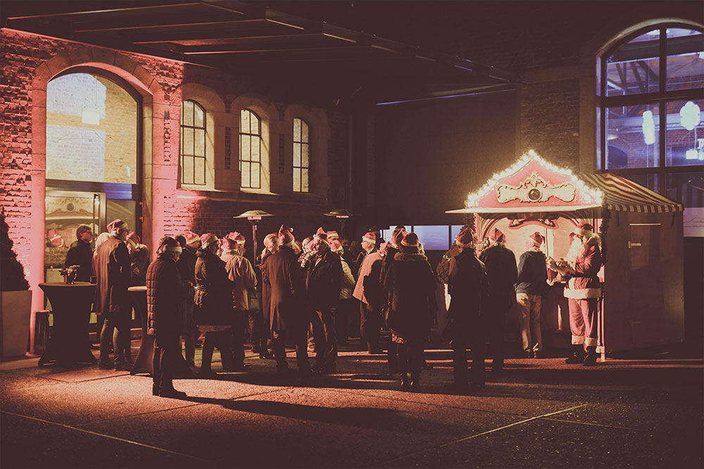 Paddock – Outdoor Weihnachtsfeier in Moers – Sammlerstücke Eventlocation Raum Düsseldorf